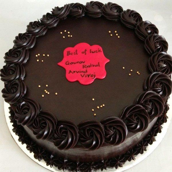 Rich Dark Chocolate Cake