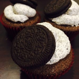 Cookie and Cream Cupcakes (Set of 12)