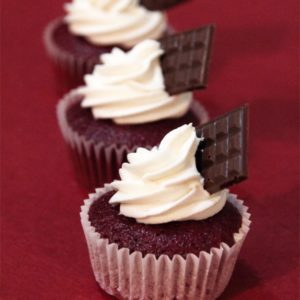 Rosy Red Velvet Cupcakes (Set of 12)