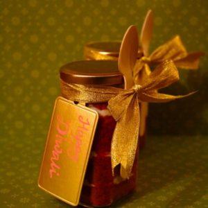 Red Velvet Dessert Jars (Set of 2)
