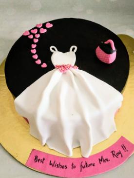 Elegant Bachelorette Cake