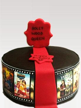 Bollywood Fan Cake