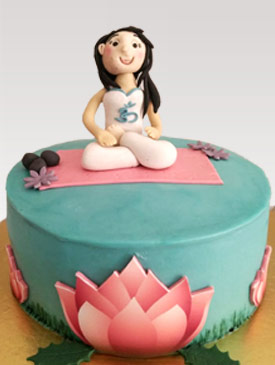 Cake for a Yoga Lover
