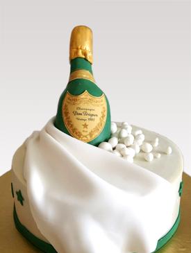 Dom Perignon Champagne Cake