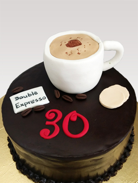 Cake for a Coffee Lover