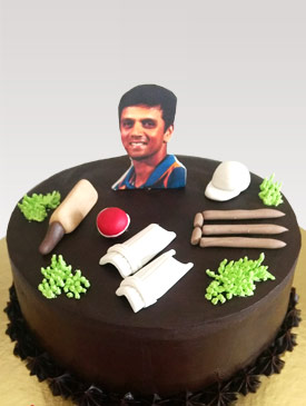 Cake for a Cricket Fan