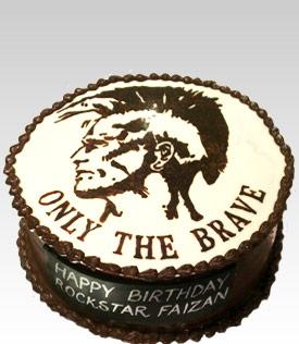 Diesel Mohawk Logo Cake
