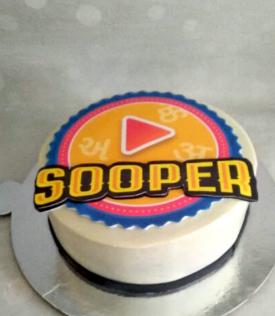Sooper Logo Cake