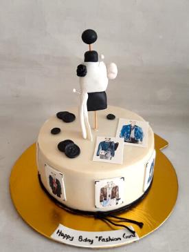 Cake for a Men's Fashion Designer