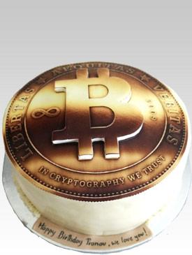 Bitcoin Cake