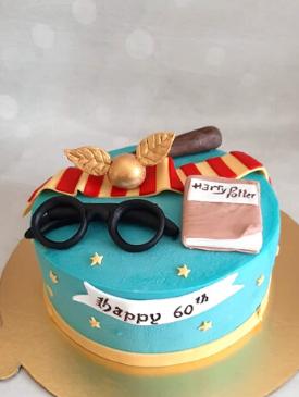 Harry Potter 60th Birthday Cake